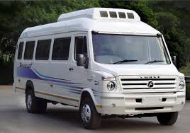 13 Seater Tempo Traveller On Rent In Jammu and Kashmir