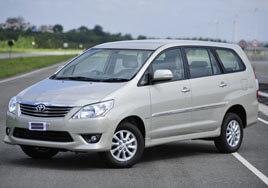 Toyota Innova Car Rental In Kashmir