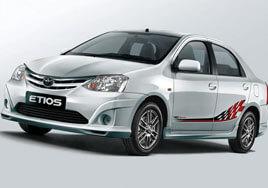 Etios Car Rental In Srinagar Kashmir